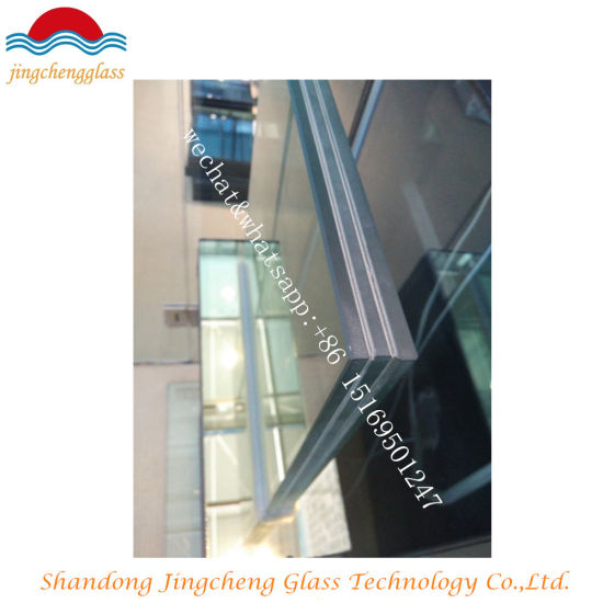 6.38mm/8.38mm/10.38mm/12.38mm Safety Clear and Colored Tempered Laminated Building Glass