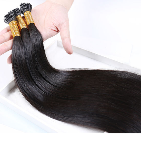 9A Luxury Brazilian Keratin Flat Shape Remy Virgin Human Hair Wig Extensions pictures & photos