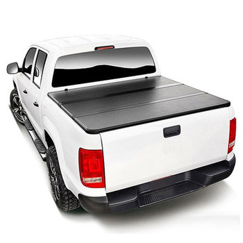Auto Spare Parts Hard Tri Fold Aluminum Tonneau Cover for Ford F-150 5.5FT Pickup Bed Cover