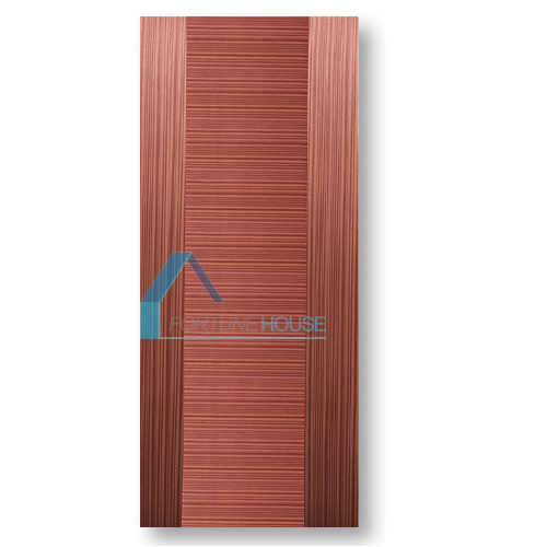 New Design Flat Plywood Door with Horizontal/Vertical Grain pictures & photos