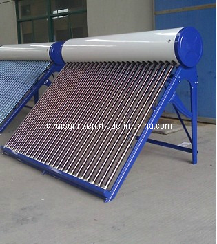 Affordable Unpressurized Vacuum Tube Solar Water Heater (CNP-58)