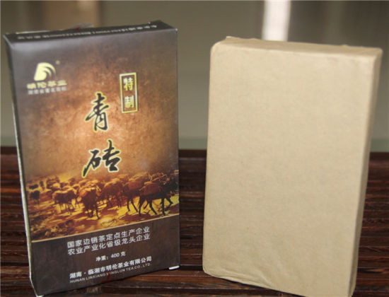 400g Qing Brick Tea Produced in 2011 Dark Tea Pressies Tea pictures & photos
