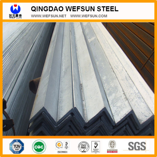 Q345 Steel Structure 5.8m Length Steel Equal Angle Bar pictures & photos