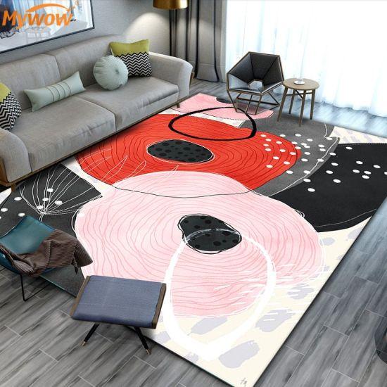 Colorful Carpet Center Rug for Living Room