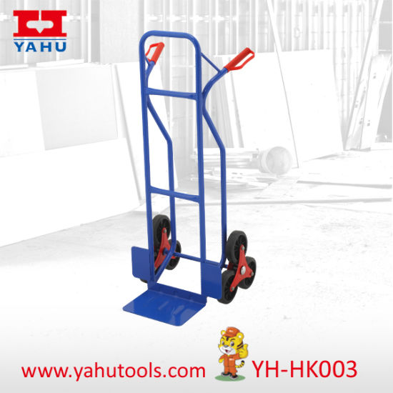 China Six Wheel Stair Climbing Hand Truck Tool Cart - China