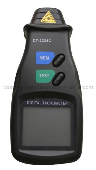 China Digital Laser Non-Contact Photo Tachometer (DT-2234C) - China