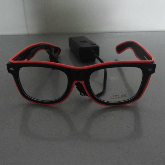 Red Black Frame EL  Glasses for Party Birthday Festival Music pictures & photos