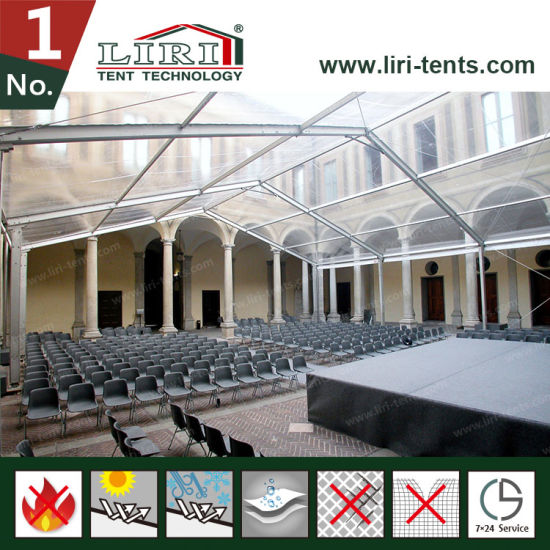 Waterproof Event Tent with Clear Roof Cover and Sidewalls for Weddings and Parties pictures & photos