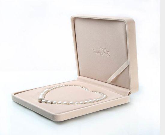 Jewelry Box Custom Luxury Velvet Pearl Necklace Gift