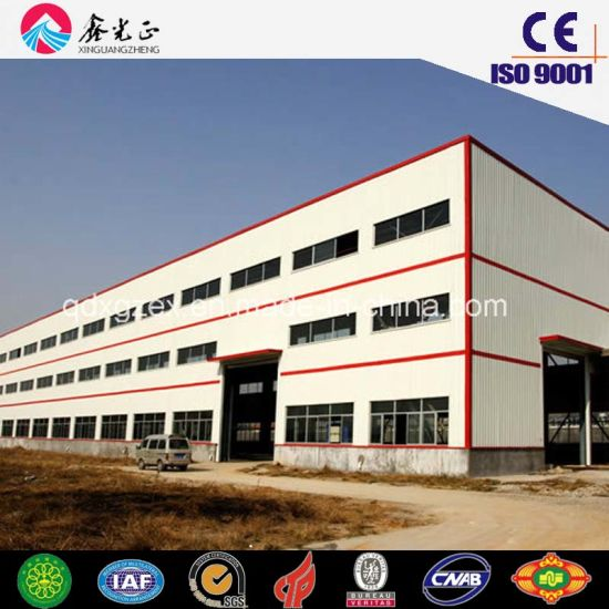 Sino Fast Assemble Steel Structure Workshop (SS-168)