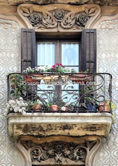 Outdoor Antique Style Dark Copper Balcony Railing pictures & photos