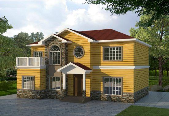 Captivating Environmental Materia Prefab Light Steel Villa House For Labor Apartment