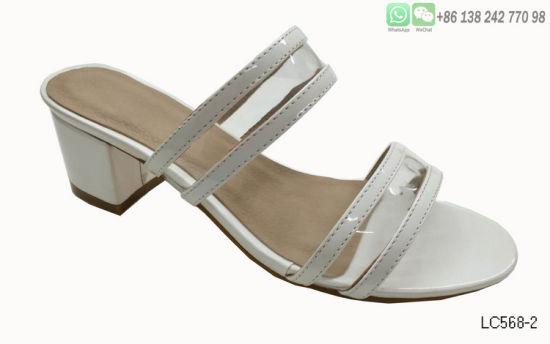 80ce83bc05f China Ladies Sandals Plastic Transparent Peep Toe High Heel Shoes ...