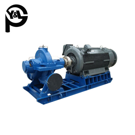 High Efficiency Motor Driven Split Case Water Pump for Waterworks pictures & photos