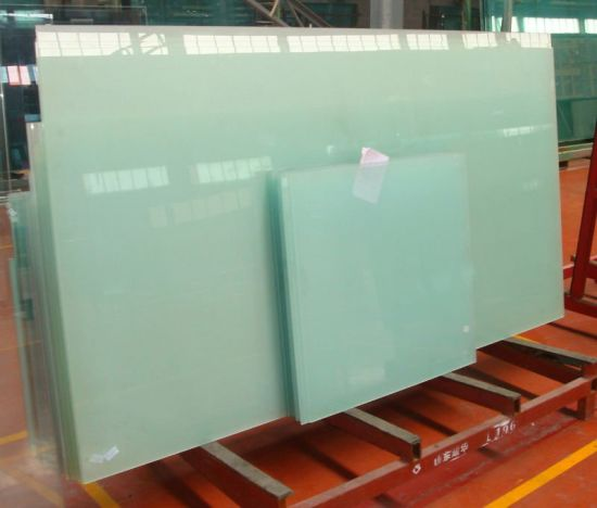 Toughened Glass Table Top With 8mm 10mm 12mm, Milk Color