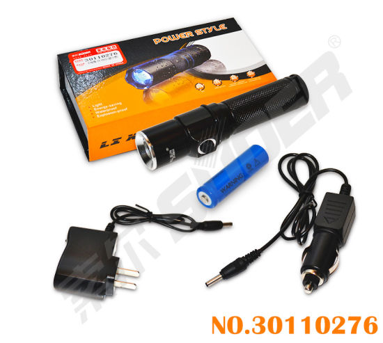 Mini LED Bright Light Flashlight Power Style Torch pictures & photos