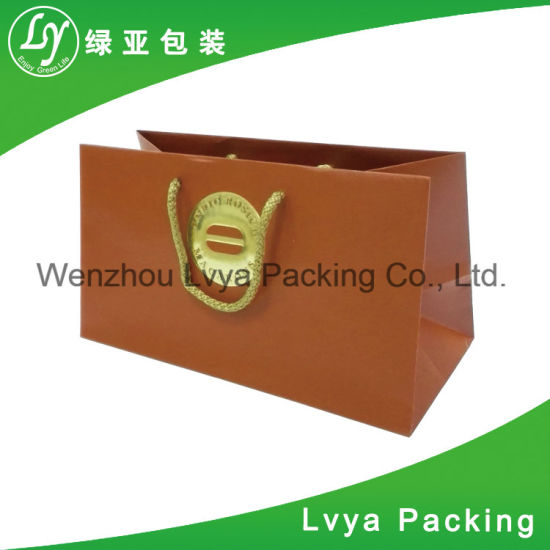 6ecf68c0 Lower Price Recycled Custom Printed Gift Paper Bag, Paper Shopping Bag