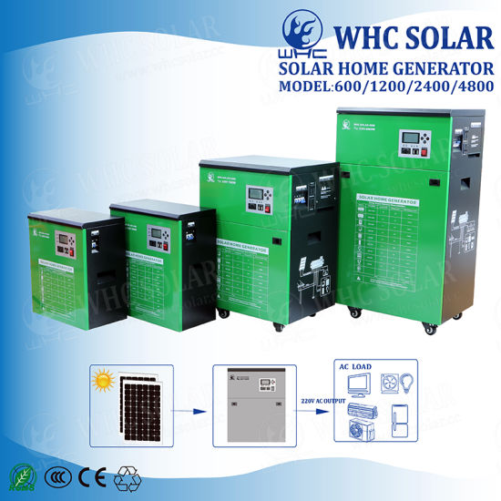 China Electricity Generating Whole House Solar Panel Power System ...