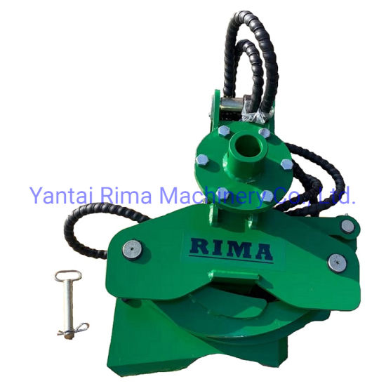 Forestry Tree Shear Tree Cutter Grapple for Excavator
