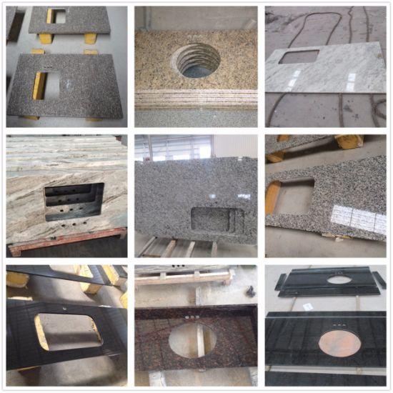Granite Tiger Skin White/Bainbrook Brown/Tan Brown/St Cecilia  Light/Absoulte Black/Cararra White Marble Kitchen Countertop/Vanity Top