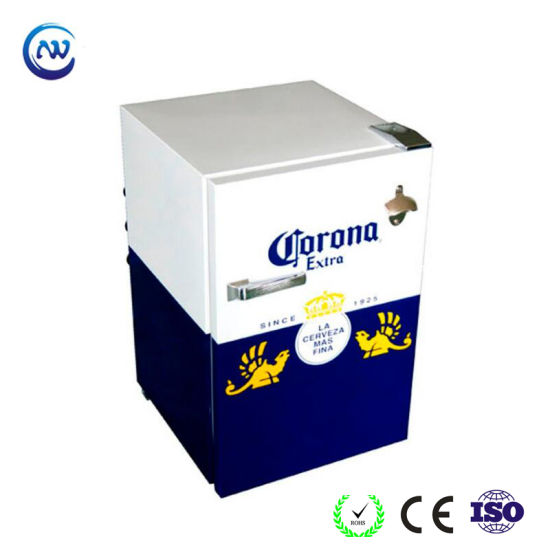 Upright Ice Cream Freezer Destop Drink Cooler Wine Chiller (JGA-SD58)