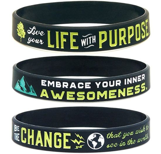 High Quality Silicone Wristband with Embossed Customized Logo (YB-w-020) pictures & photos