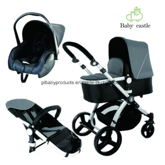 3 in 1 Travel System Stroller Baby Stroller Car with Carrycot and Car Seat