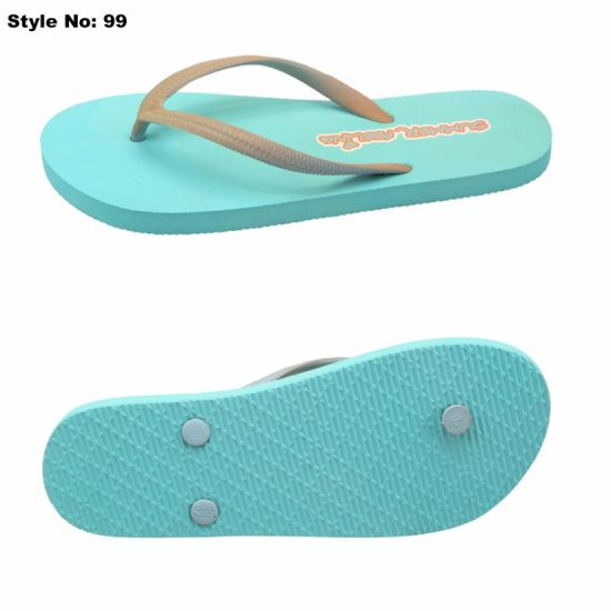 a14a23fe5bbc China Latest Cheap PE Excellent Quality Simple Beach Flip-Flops ...