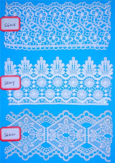 Cheap Price High Quality Water Soluble Chemical Lace for Decoration