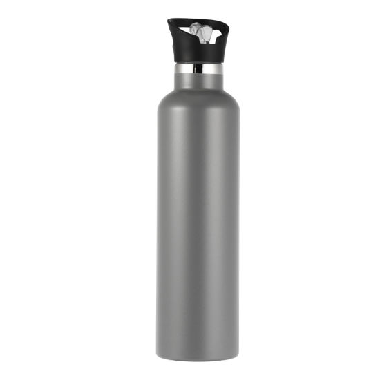 Travel Double Wall Vacuum Jug 17oz 500ml Custom Reusable 304 Stainless Steel Sports Drink Water Bottle
