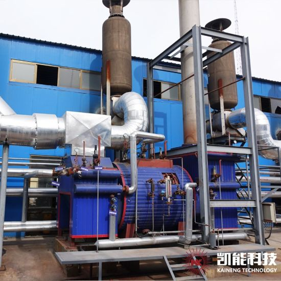High Heat Efficiency Power Plant Engine Set Waste Heat Boiler Small Size pictures & photos