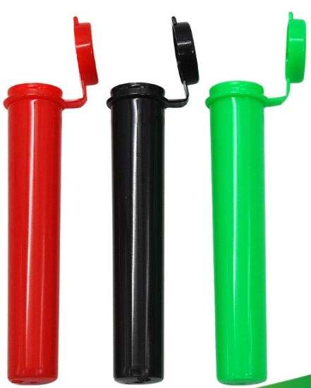 Plastic Joint Doob Containers Medication Cigarette Holder Pre-Rolled Cigar Tubes