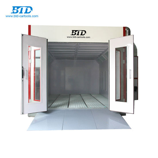 China Btd Used Car Paint Booth For Sale Auto Painting Oven China