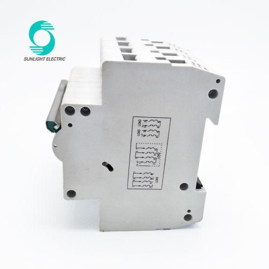 China PV System 1 2 3 4 Pole 1 2 3 6 16 20 32 40 63 AMP 1000V Single ...