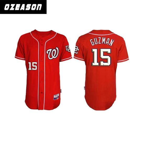 best service 2b1c4 54add Custom Design Baseball Shirt Baseball Jersey Wholesale