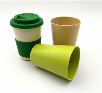 Biodegradable Bamboo Fiber Eco Friendly Coffee Kids Cup (YK-BC4187) pictures & photos