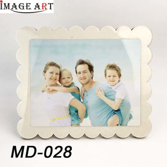Flower Rim Sublimation Blanks Photo Frame with Aluminum Sheet pictures & photos