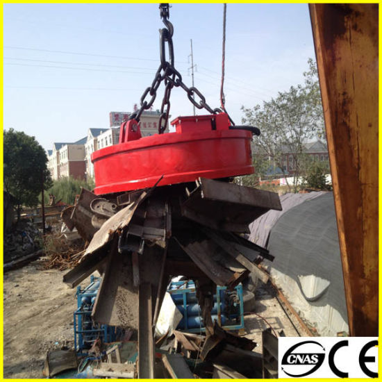 Magnetic Lifter for Metal Scraps 10t pictures & photos