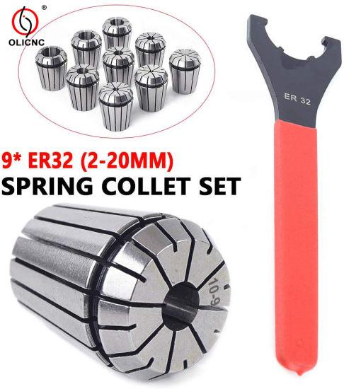 ER20 10pcs//set 4-13mm Collet set DIN6499B