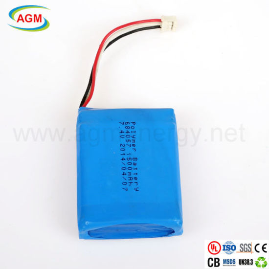 684057 1500mAh 7.4V Rechargeable High Quality Polymer Battery