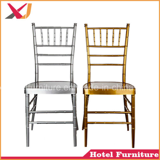 china high quality wedding used metal aluminum acrylic chiavari