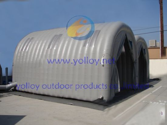 Soda Sand Blasting Inflatable Spray Tent pictures & photos