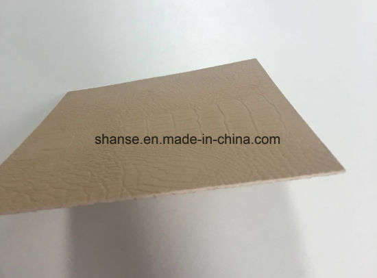 China 600x300mm Flexible Fireproof Waterproof Leather Floor Tiles
