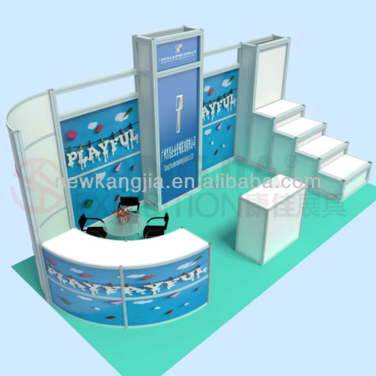 Exhibition Shell Scheme For Sale : China kj hot sale fashion alu3mx6m exhibition booth design for