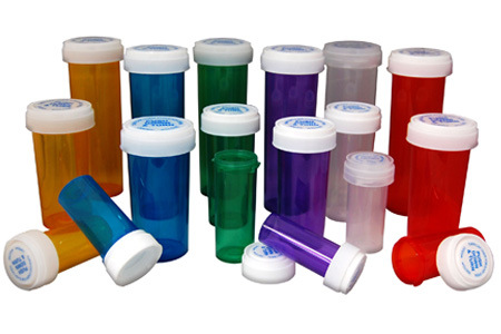 Child Resistant Pharmacy Bottles Push Down & Turn Vials Color Customized pictures & photos