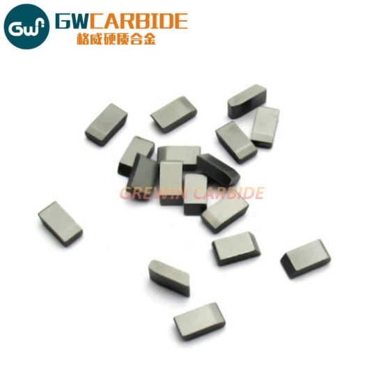Solid Tungsten Carbide Saw Tips for Metal