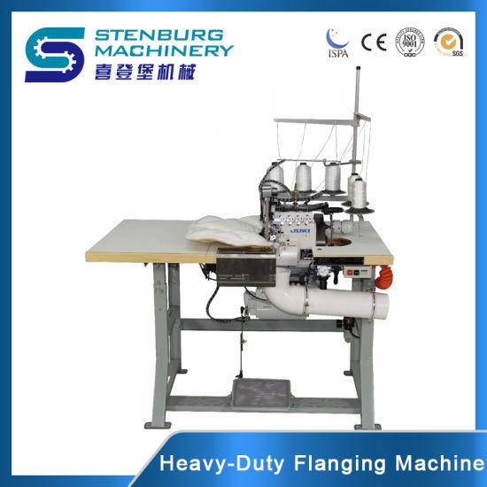 Mattress Flanging/Serging Overlock Sewing Mattress Machine with Juki Sewing Head
