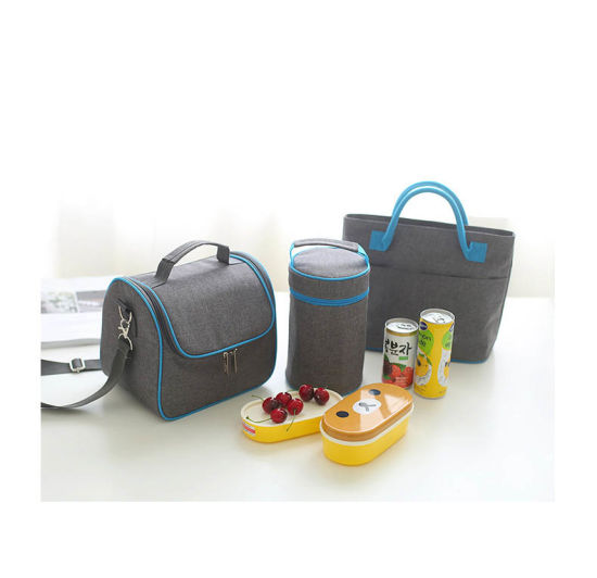 Hot Selling Insulated Cooler Lunch Bag with Front Zipper Pocket