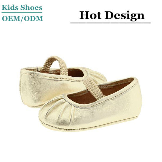 Shallow - Mouthed Breathable Lightweight Princess Shoes with Beanie Shoes