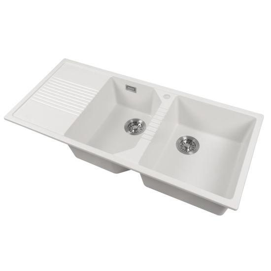 Wholesale Custom Composite Granite Kitchen Sinks for Family